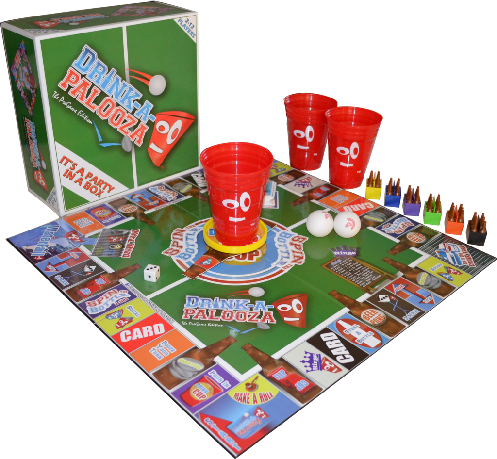 Drinking Board Game-Drink-A-Palooza