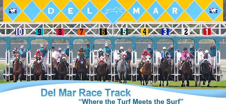 drinking game at del mar race track