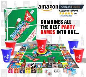 how to party drinking games