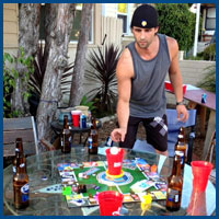 beer board games for drinking games