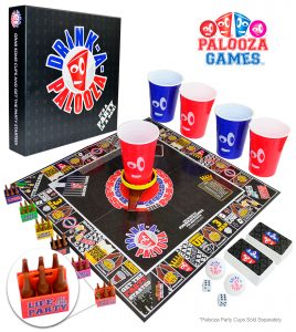 adult game night drinking games for party