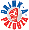 DRINK-A-PALOOZA Board Games: Party Drinking Games for Adults – Game Night Party Games | Fun Adult Beer Games Gift with Beer Pong + Flip Cup + Kings Cup Card Games + More! Logo
